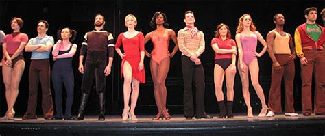 I Finally Saw A Chorus Line by Quot A Five Six Seven Eight Quot A New Chorus Lines Up For