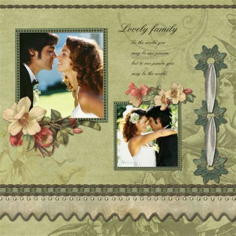 wedding scrapbook templates wedding scrapbook ideas make a wedding photo album for
