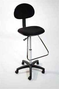 Counter Height Adjustable Desk Chair Black Drafting Counter Height Stool Chair Bank