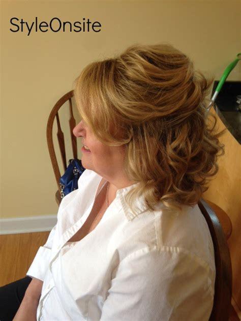 mother of the bride half up half down wedding hairstyles style onsite 187 style onsite 187 mother of the bride hair and