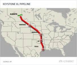 nebraska governor oks keystone pipeline route but us