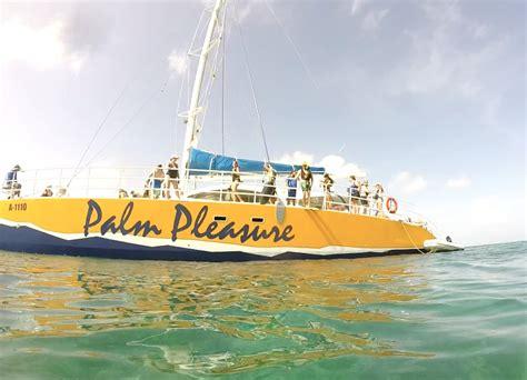catamaran aruba tour activities in aruba with kids 2 dads with baggage