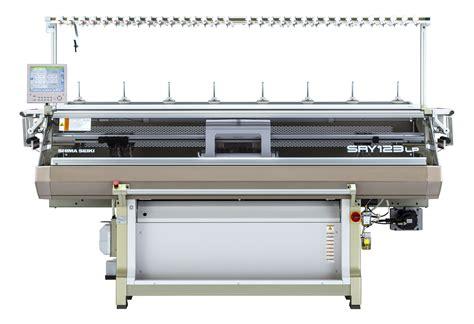 flat knitting machine shima seiki presents knitting machinery at advanced