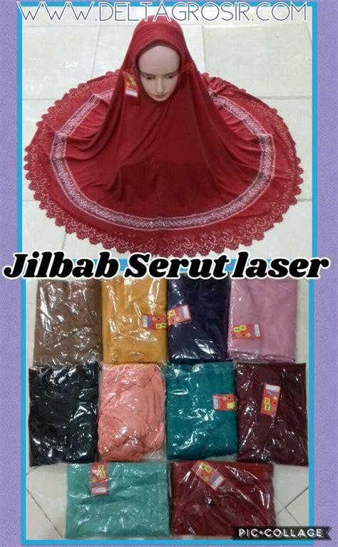 Konveksi Jilbab konveksi jilbab serut pita laser dewasa murah surabaya 27ribu