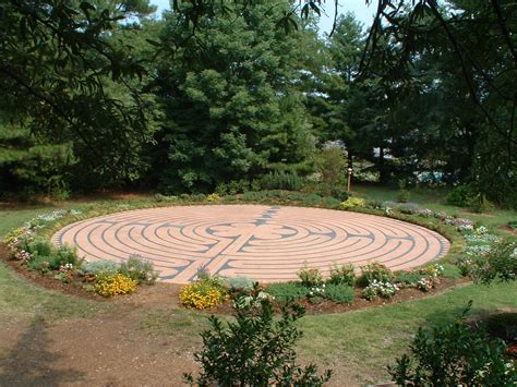 self sustainability and the center of peace labyrinths