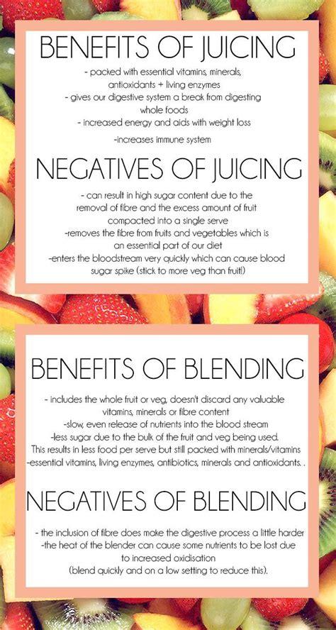 Juicing Vs Blending For Detox by Wellness Daily Juicing Vs Blending Get Your Juice On