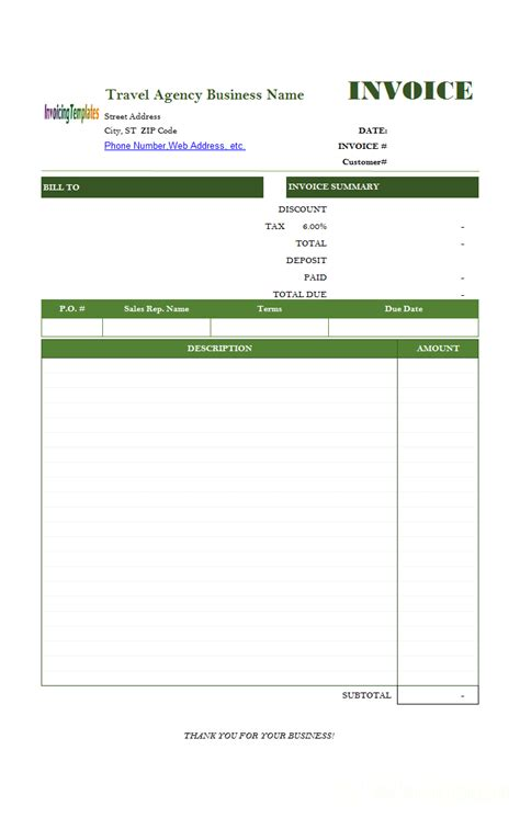 79158910085 ar invoice word office free printable sales receipt