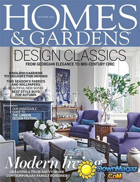 houses magazine homes gardens october 2016 187 download pdf magazines