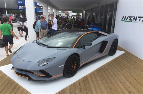 Lamborghini One Off by One Off Lamborghini Aventador S Created For Goodwood