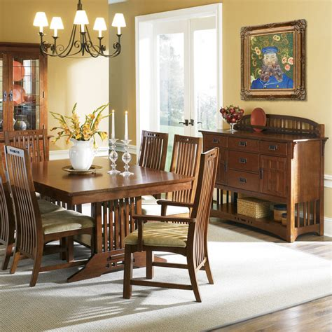 craftsman dining room oil paintings for dining rooms craftsman dining room