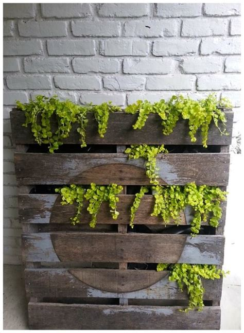 Things To Use As Planters by How To Make A Pallet Herb Planter 99 Pallets