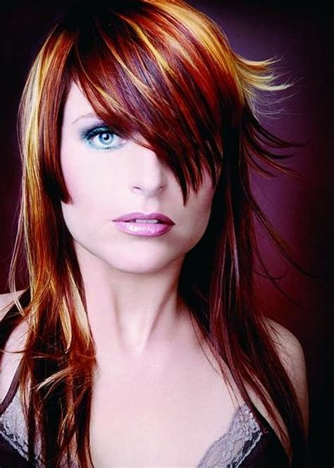 red hair 40s red hair color ideas with highlights best hair color