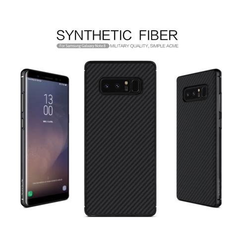 Hardcase Nillkin Synthetic Fiber Carbon Samsung Galaxy Note 8 nillkin synthetic fiber series protective for samsung