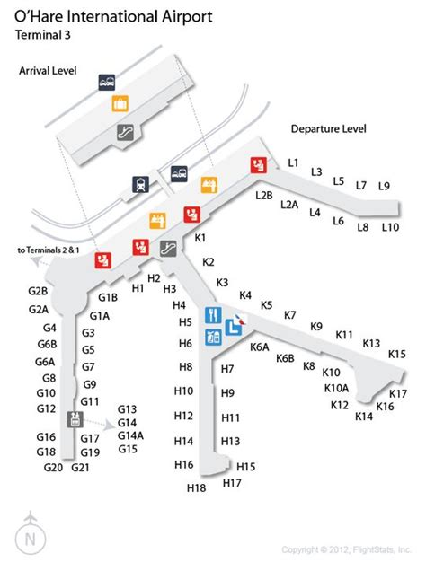 ord terminal map ord o hare international airport terminal map american airlines terminal 3 cartography