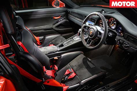 Porsche Gt3 Interior by Porsche 911 Gt3 Rs Review