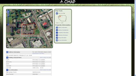 clackamas county tax maps new clackamas county mapping site uses free technology to