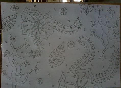 gambar batik yang mudah digambar di kertas batik indonesia membuat gambar batik sederhana satu tulisan