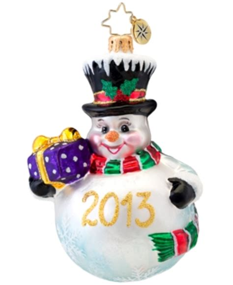 2013 dated christmas ornaments christopher radko 2013 collectable ornaments