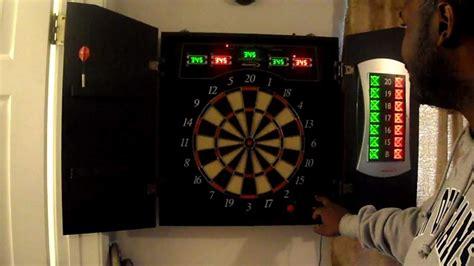 halex electronic dartboard with cabinet halex 5000 trash talking electric dartboard