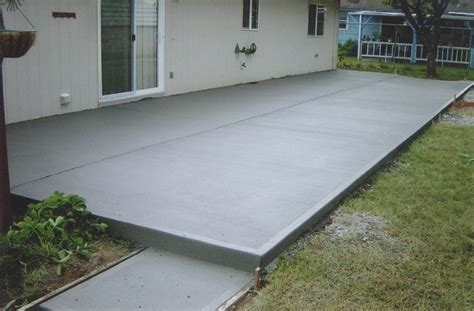 cement backyard concrete patio apply sealer kris allen daily