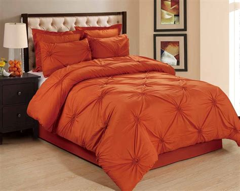 orange and black comforter set car interior design