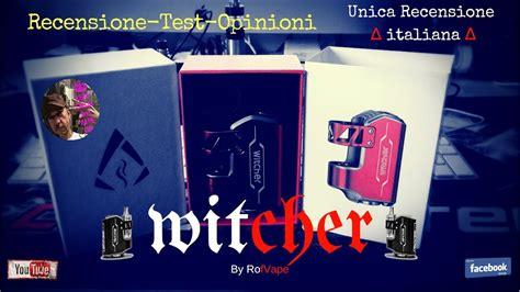 test opinioni witcher by rofvape 75watt recensione test opinioni