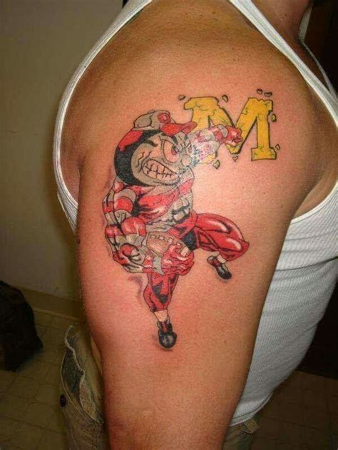 buckeye tattoo designs 21 best ohio state buckeyes tattoos images on