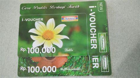 Voucher Indomaret 100 000 jual voucher indomaret i voucher 100 000 mertiana shop
