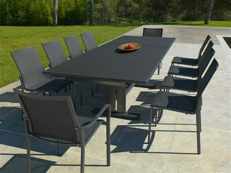 tavolo da giardino allungabile tavolo da pranzo da giardino allungabile in alluminio