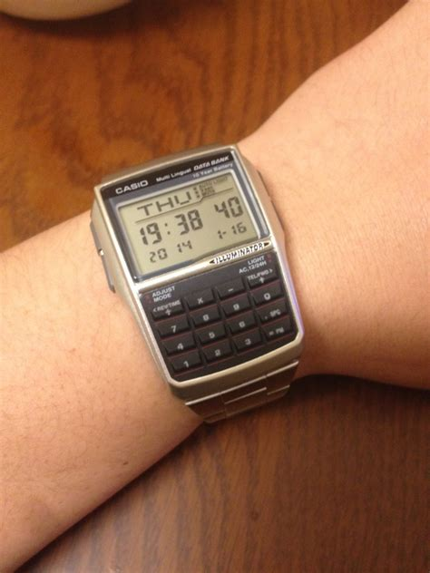 Casio Original Dbc 32d 1avdf jual jam tangan casio data bank dbc 32d 1a original