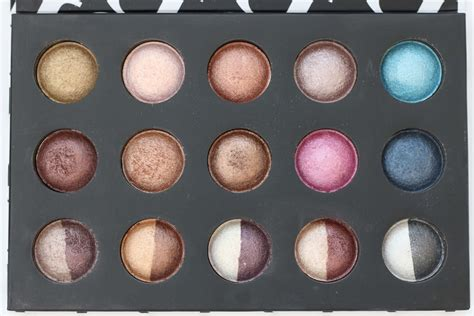 Promo Baked Eyeshadow Palette bh cosmetics haul with review and swatches liviatiana