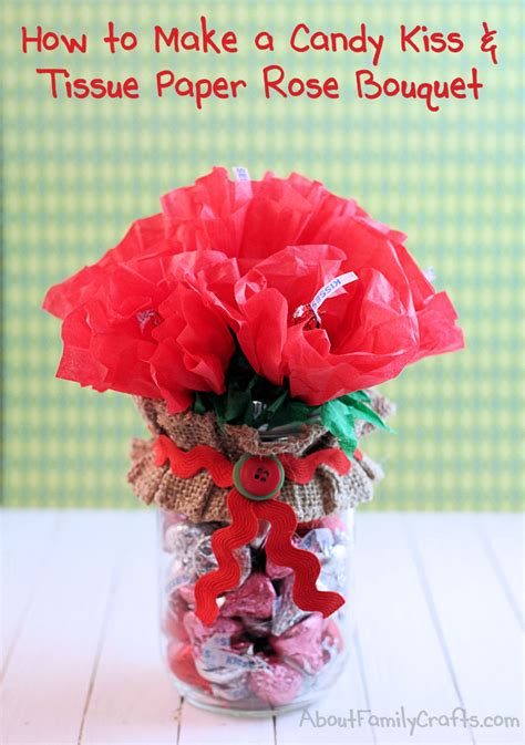 How To Make Tissue Paper Bouquet - diy and tissue paper roses