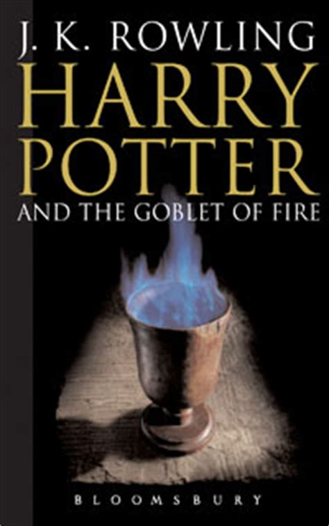 harry potter and the goblet of series 4 hpl goblet of