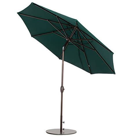 Patio Umbrella Weights Abba Patio 27 4 Quot Umbrella Base Patio Umbrella Steel Stand Weights 55 Lbs Brown