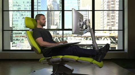 stand up or sit down computer desk altwork sit down stand up lie down workstation