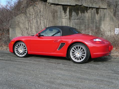 porsche boxster red porsche boxster review and photos