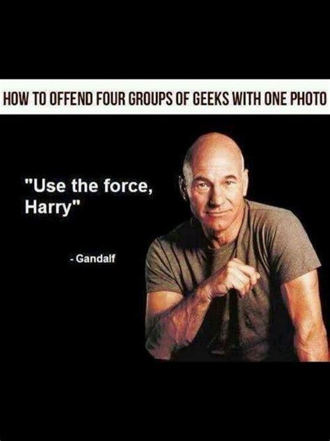 Star Wars Star Trek Meme - lol yep star trek star wars harry potter and lord of