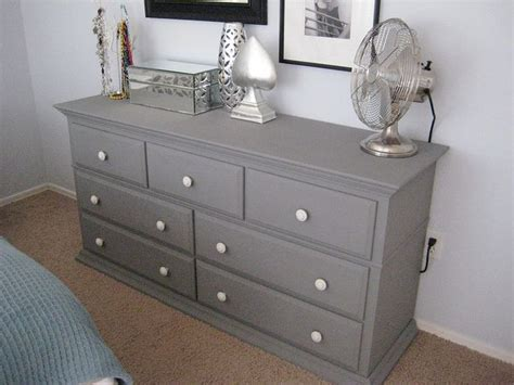 Grey Bedroom Dressers | thinking about painting my bedroom furniture gray