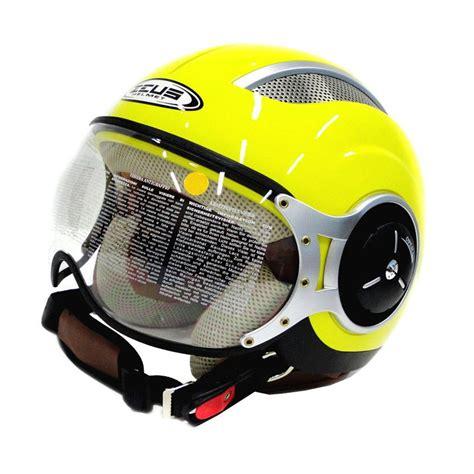 Helm Motor Iron Sni jual zeus zs 218 kuning retro iron kuning helm half