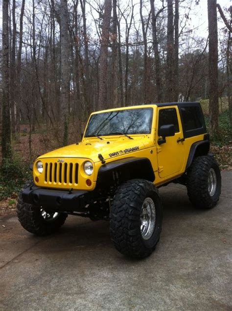 jeep wrangler yellow for sale 2009 yellow jeep for sale