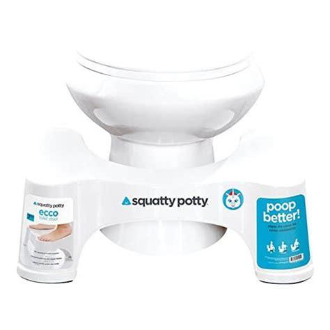 Squatty Potty Toilet Stool White 7 by Squatty Potty The Original Bathroom Toilet Stool 7