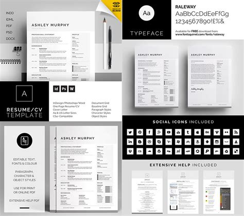 Professional Resume Templates Microsoft Word by 20 Professional Ms Word Resume Templates With Simple Designs