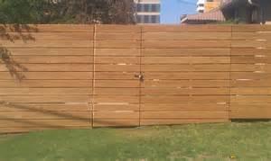 Horizontal Wood Fence Design Denver Fence Repair
