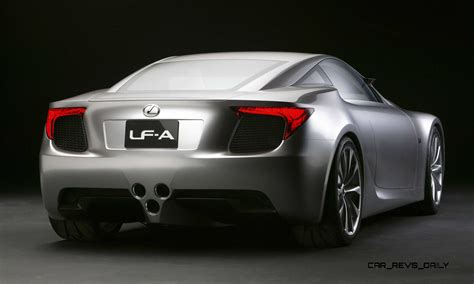 lexus models 2005 concept to reality part two 2007 lexus lf a roadster