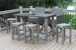 Patio Bar Table And Chairs Furniture Delightful Patio Bar Height Table And Chairs Bar Height Patio Table And Chair Covers
