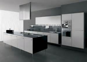 Black And White Kitchens Designs by 30 Black And White Kitchen Design Ideas Digsdigs