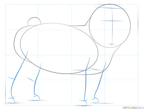 how to draw pugs step by step how to draw a pug step by step drawing tutorials