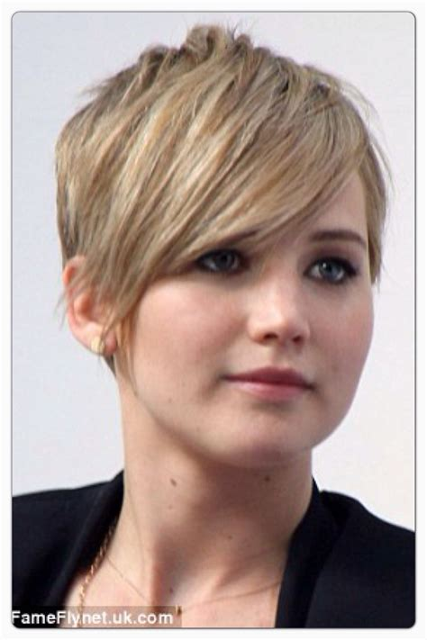 is jennifer lawrence hair cut above ears or just tucked behind 57 best images about short cuts on pinterest shorts for