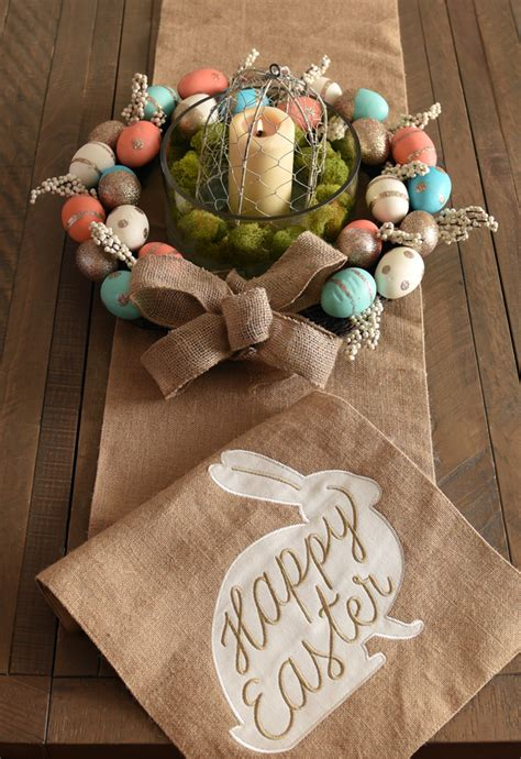homemade easter decorations for the home easy diy easter centerpieces my kirklands blog