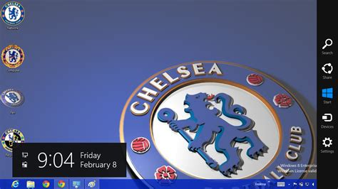 theme line chelsea chelsea fc 2013 theme for windows 8 ouo themes